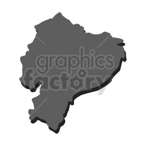 ecuador vector shape clipart. Commercial use image # 416091