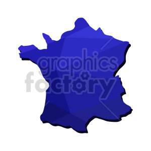 france blue vector graphic clipart. Commercial use image # 416108