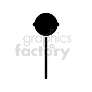 sucker outline vector clipart clipart. Commercial use image # 416241