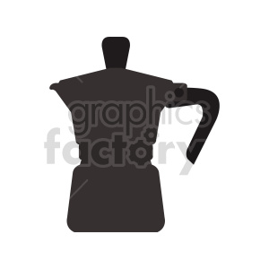 coffee pot vector clipart clipart. Commercial use image # 416266