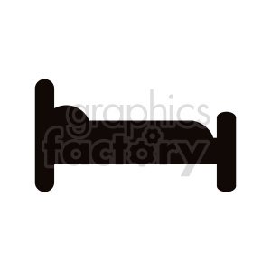 bed vector clipart clipart. Commercial use image # 416271