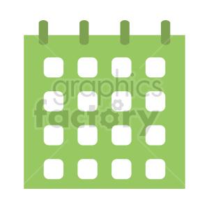 clipart - calendar vector clipart.