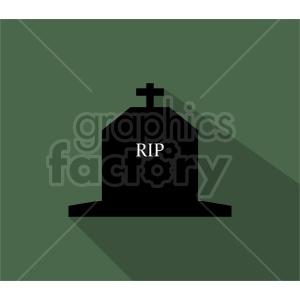 rip tombstone clipart design