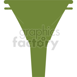 oil funnel vector graphic clipart. Commercial use image # 416420