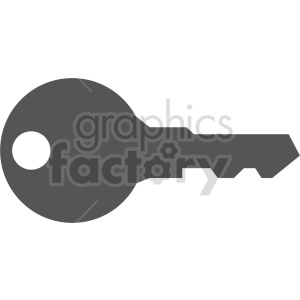 key vector icon clipart. Commercial use image # 416440