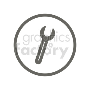shovel vector wrench clipart. Commercial use image # 416450