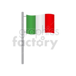 clipart - italian flag icon.