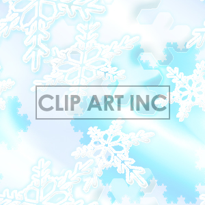 snowflake tiled background clipart. Royalty-free image # 128141