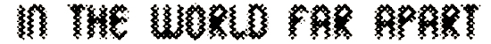 wild_sewerage font. Royalty-free font # 174711