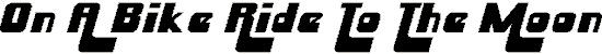Huskysta font font. Royalty-free font # 174823