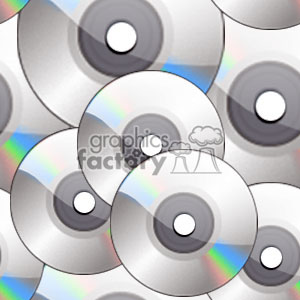 CD-ROM or DVD tiled background clipart. Royalty-free image # 371711