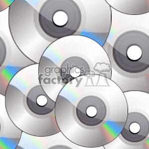 CD-ROM or DVD tiled background