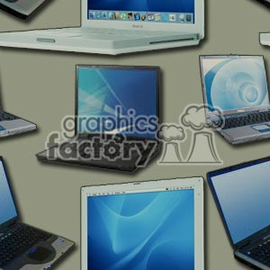 laptop background clipart. Royalty-free image # 372183