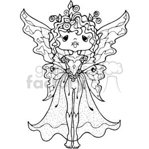 Fairy Standing clipart. Commercial use image # 380204