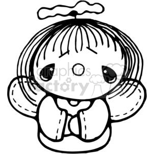 Tiny Angel clipart. Commercial use image # 380209