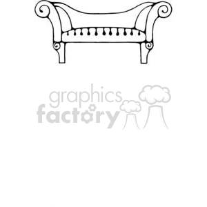 Sofa-Long1 clipart. Commercial use image # 380259