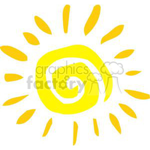 Sun clipart. Commercial use image # 380279