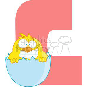 2747-Funny-Cartoon-Alphabet-C clipart. Royalty-free image # 380284