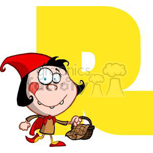 2762-Funny-Cartoon-Alphabet-R clipart. Commercial use image # 380309