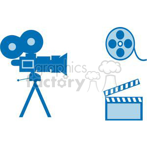 2794-Movie-Set-4 clipart. Royalty-free image # 380314