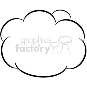 011-Cartoon-Clouds clipart. Commercial use image # 380494