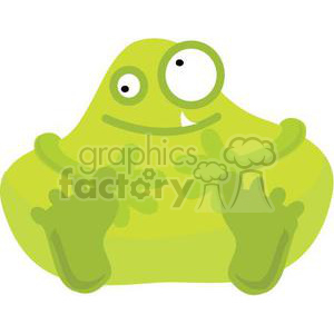 monster-v1 clipart. Royalty-free image # 380803