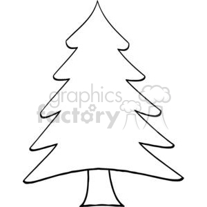 Pine-Tree clipart. Royalty-free image # 381235