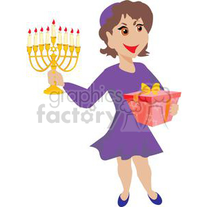 hanukkah-013 clipart. Royalty-free image # 381471