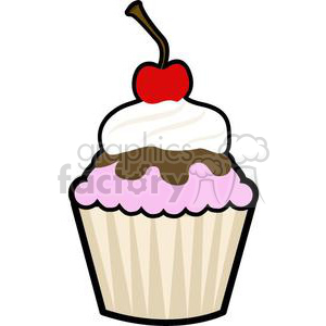 cupcake  clipart. Royalty-free image # 381655