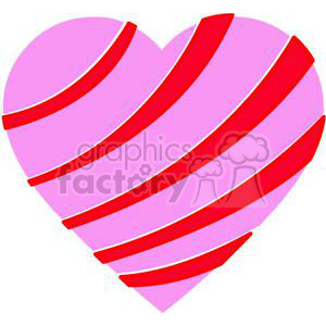 heart hearts Valentine Valentines love relationship relationships vector cartoon stripped pink red