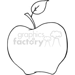 4094-Cartoon-Aplle clipart. Royalty-free image # 381987