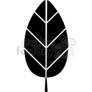 leaf 009 clipart. Royalty-free image # 384793