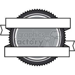 crest seal logo elements 009 clipart. Royalty-free image # 384883
