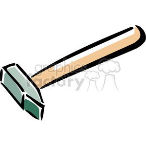 hammer clipart. Royalty-free image # 385025
