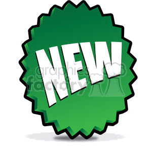 NEW-icon-image-vector-art-green 001 clipart. Royalty-free image # 385585