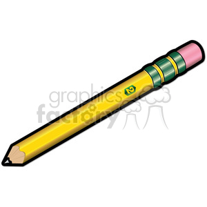 school pencil clipart. Royalty-free image # 385595