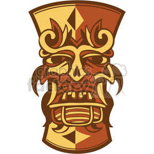 Tiki clipart. Commercial use image # 385858