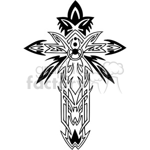 cross clip art clipart. Commercial use image # 385866