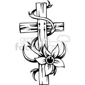 christian religion cross 088 clipart. Royalty-free image # 386030
