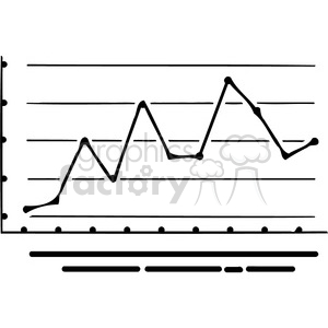 office business graph 072 clipart. Royalty-free image # 386040