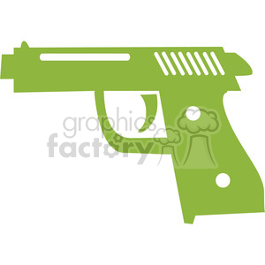 green gun 066 clipart. Commercial use image # 386090