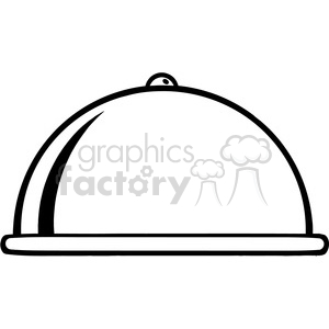 Chef-Platter clipart. Commercial use image # 386575