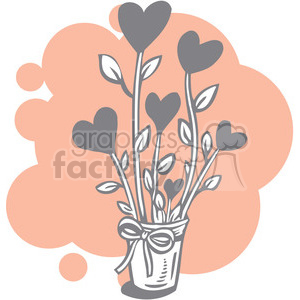 organic love clipart. Commercial use image # 386654