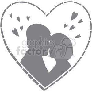 people in a relationship clipart. Commercial use image # 386704