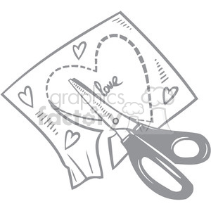 making love letter clipart. Royalty-free image # 386714
