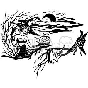 Halloween clipart illustrations 030 clipart. Royalty-free image # 387042