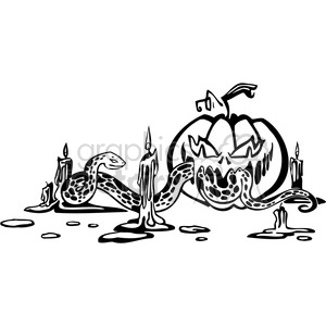 Halloween clipart illustrations 025 clipart. Royalty-free image # 387052