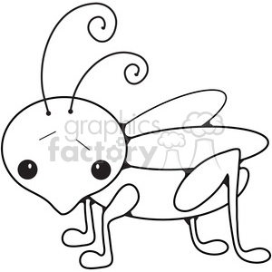 Grasshopper clipart. Commercial use image # 387243