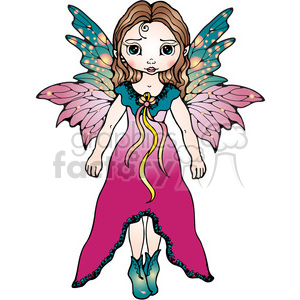 04 Fairy COL clipart. Commercial use image # 387552