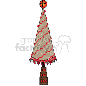 Christmas Tree Cone 05 clipart clipart. Royalty-free image # 388009